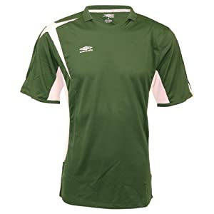 Umbro Climate Control V-Neck Jersey (Small, Green)