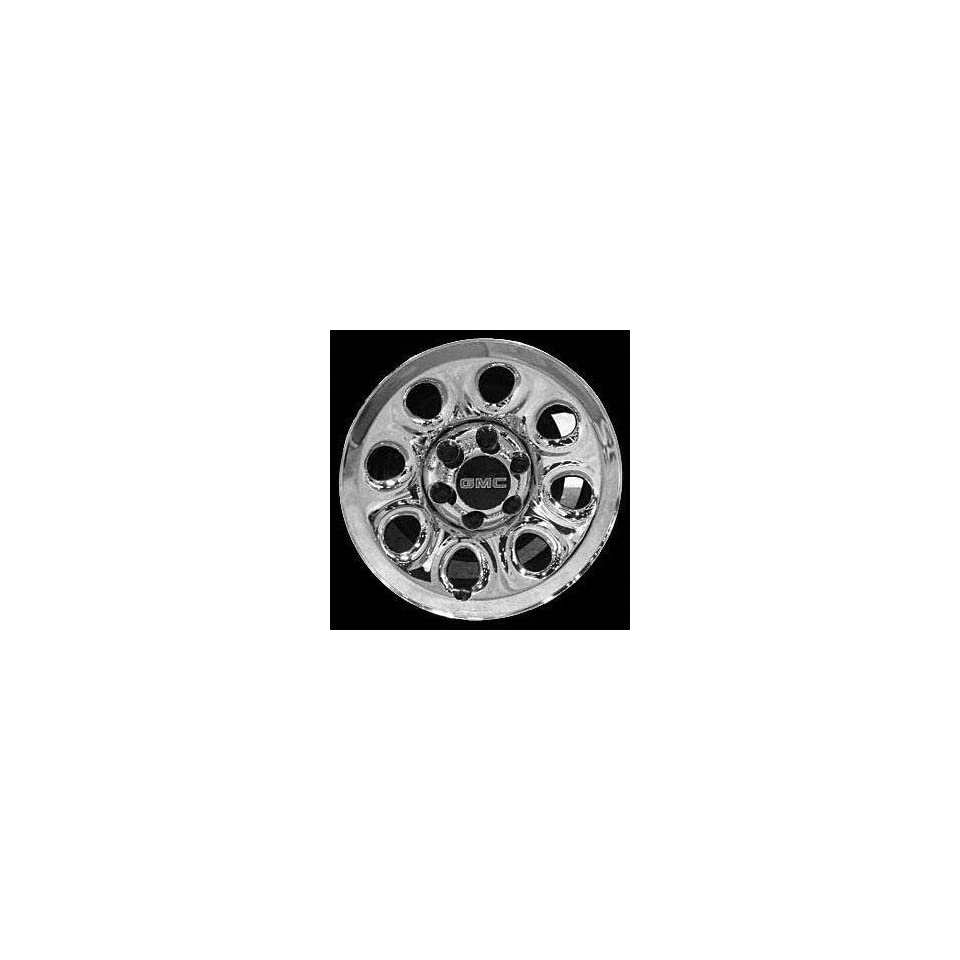 05 CHEVY CHEVROLET SILVERADO PICKUP STEEL WHEEL TRUCK, Diameter 17, Width 7.5, Lug 8 (8 HOLES), CLADDED CHROME, 1 Piece Only, (center cap not included) (2005 05) STL05223U86
