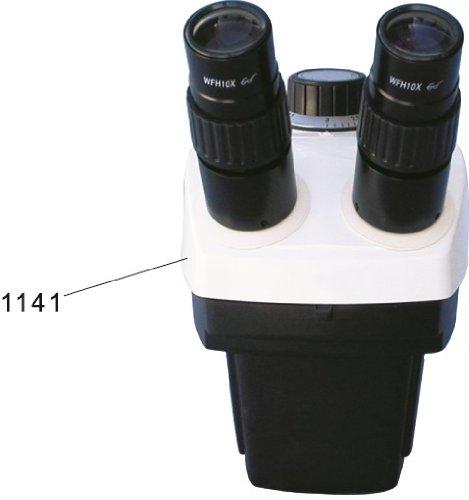 Xtz4 Zoom Stereo Microscope Body With Wf10X (0.7X-3X) Eyepiece
