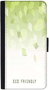 Snoogg Abstract Nature Background With Fresh Green Leaves Graphic Snap On Har...