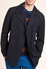 Limited Collection Pure Cotton Double Breasted Coat [T16-5600L-S]
