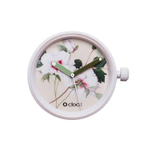 O'clock fullspot cassa Botanical meccanismo peonia