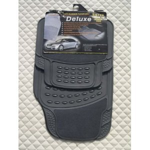 SEAT IBIZA / LEON Car Mats - PVC Rubber 4 Piece Set - 2210 Grey