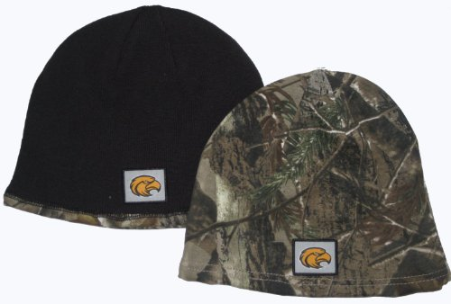 NCAA Licensed Realtree Camo Reversible Beanie Hat (Southern Mississippi Golden Eagles)