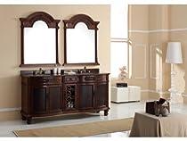 "Hot Sale James Martin Furniture 72"" Double Bathroom Vanity"