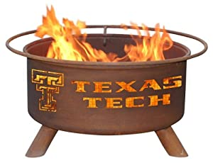 Patina Products F233, 30 Inch Texas Tech Fire Pit by Patina