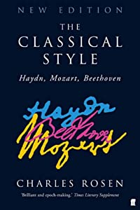 The Classical Style Haydn Beethoven Mozart by Faber and Faber
