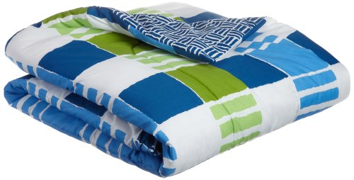 Martex 1C86921 Fun Stripe Kids Comforter, Multi back-863584