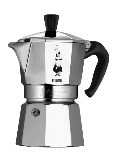 Amazon.com: Bialetti 6799 Moka Express 3-Cup Stovetop Espresso Maker: Kitchen & Dining