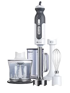 DeLonghi DHB723 380-Watt Tri-Blade Variable Speed Handblender