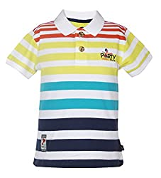 Vitamins Baby Boys' T-Shirt (08Tb-408-1-White_White_1 - 2 Years)