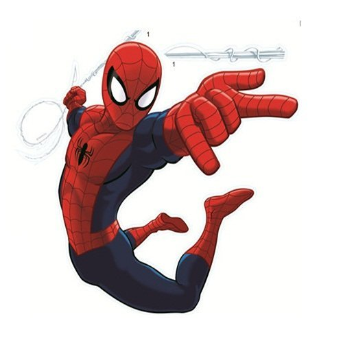 Spider Man Wall stickers - Different styles available (Attacking) by Perfect Charms