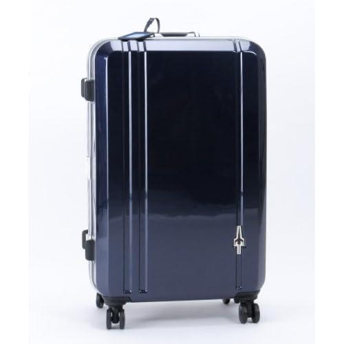 CONTINENTS(トランスコンチネンツ)キャリーケース スーツケース ダブルキャスター TSAロック搭載 軽量 (67)ミッドナイトネイビー Free