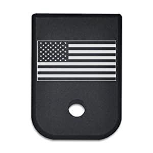 Magazine Base Floor Plate for Glock Pistols - 9mm & 40 US Flag USA flag American Flag