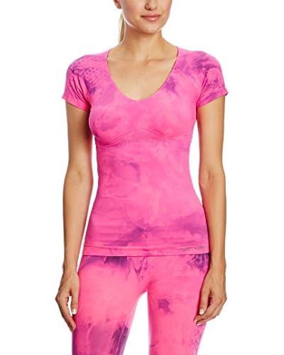 SPAIO Camiseta Técnica Fitness Women'S W01 Fucsia