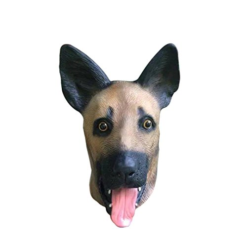 [Halloween Sheepdog Wolf Ugly Animal Masks Alizzee,Scary Full Head Wolf Masks] (Custom Werewolf Costumes For Sale)