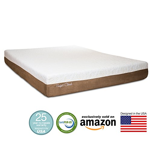 Perfect cloud atlas gel plus 10 inch memory foam mattress king size 2015 amazon exclusive Memory foam mattress king size sale