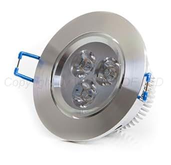 World of LED ES 5006 WW Spot LED encastrable à intensité variable