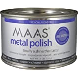 MAAS 1.1lb Can Silver Brass Copper Metal Polish. Sold by ML TOOLS and Fulfilled by Amazon