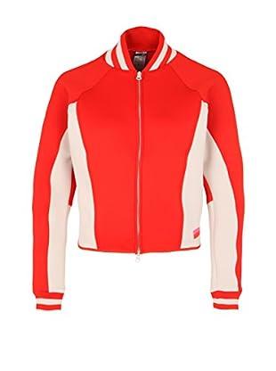 adidas Chaqueta Stellasport Spacerbomber (Rojo / Rosa)