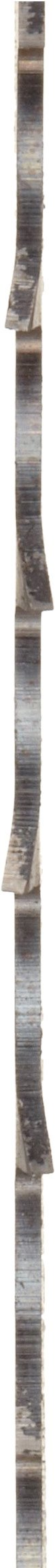 Starrett Duratec SFB Band Saw Blade, Carbon Steel, Hook Tooth, Raker Set, Positive Rake, 154 Length, 1/2 Width, 0.025 Thick, 4 TPI (Tamaño: 12' 10)