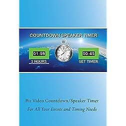 Biz Video Countdown Timer