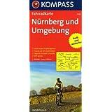 Nürnberg und Umgebung: Fahrradkarte. GPS-genau. 1:70000 (KOMPASS-Fahrradkarten Deutschland)