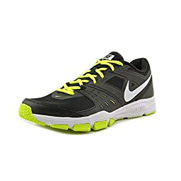 New Nike Men\'s Air One TR Cross Trainers Black/Volt/White 10.5