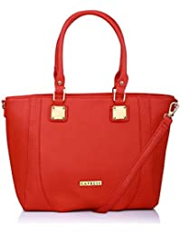 Caprese Fern Women's Tote Bag (Red)