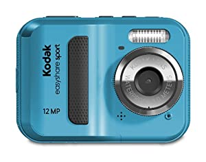 Kodak Easyshare Sport C123 12 Mp Waterproof Digital Camera Blue