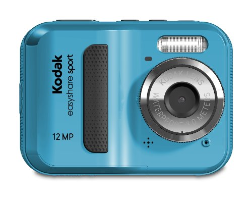 Find Bargain Kodak EasyShare Sport C123 12 MP Waterproof Digital Camera (Blue)