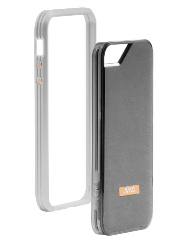 Special Sale Avivo Rail Carbonate / Apple iPhone 5 & 5S Polycarbonate Rail Suede Case (Frost White + White Suede Jacket)