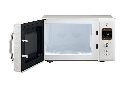 Daewoo KOR7LBKW Retro Style Microwave Oven, 20 L, 800 W, White