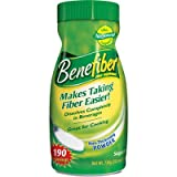 Benefiber Fiber Supplement - 25.6 oz (190 Servings)
