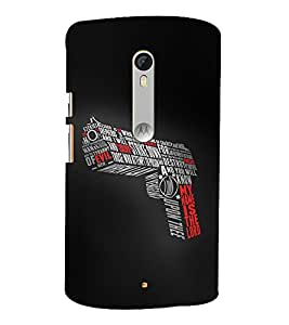 My Name Is Lord 3D Hard Polycarbonate Designer Back Case Cover for Moto G Turbo Edition