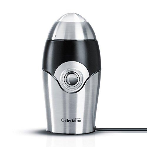 Arendo-Schlagmesser-Universalmhle-Caffetiamo-Universal-Kaffeemhle-Kchenmaschine-robustes-Edelstahl-Schlagmesser-50g-Fllmenge-150W-integrierte-Sicherheitsschaltung-Edelstahldesign