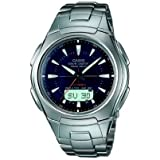 Casio WVA-430DU-1AVER Tough Wave Ceptor Radio controlled Solar power Combi Watchby Casio