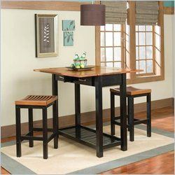 Cheap Home Styles 5031-94C Expandable Console Table Dining Set (5031-94C)
