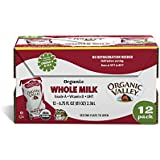 Organic Valley Whole Milk, 6.75 fl oz (Pack of 12)