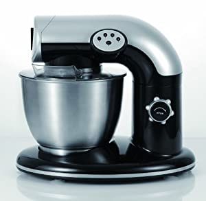 EuroPrep EP600 6-Quart 4 Speed Stand Mixer, Planetery Action with Stainless Steel Bowl by Euro Prep