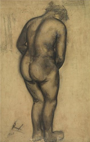 Oil Painting 'Standing Nude By Constant Permeke, 1925', 10 x 16 inch / 25 x 40 cm , on High Definition HD canvas prints is for Gifts And Garage, Home Theater And Kids Room Decoration, diy