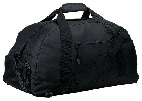 Port & Company - Basic Large Duffel Bag, Black