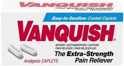 Vanquish Extra Strength analgésique Caplets-100