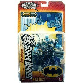 Buy Low Price Mattel DC SUPERHEROES JUSTICE LEAGUE UNLIMITED MR. FREEZE Figure (B000EGEZNS)