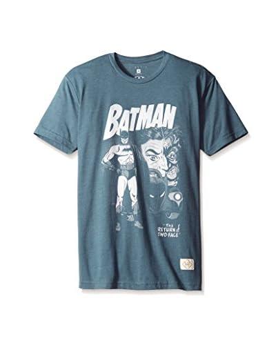Kinetix Men's Batman Comic Two Face Short Sleeve T-Shirt