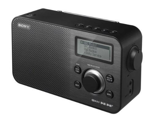 Sony XDRS60 DAB/DAB+/FM Compact Retro Style Digital Radio - Black