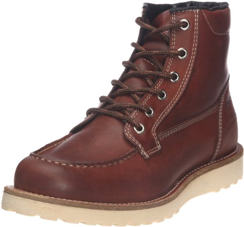 Jack and Jones Men's Logger Cognac Lace Up Boot 12041929 9 UK