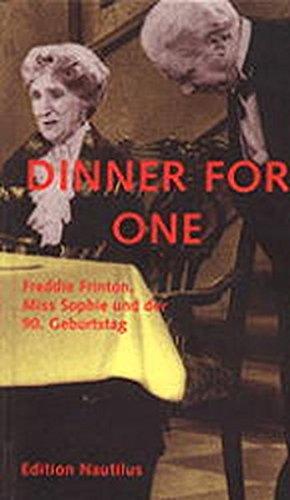 dinner for one freddie frinton miss sophie und der 90 geburtstag. Black Bedroom Furniture Sets. Home Design Ideas