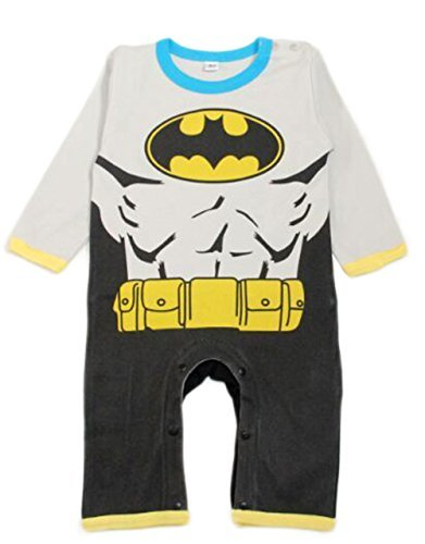 StylesILove Baby Boy Super Heroes Long Sleeve Costume Jumpsuit