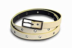 V.S Women's Belt (Vsi036-44_Cream_44)